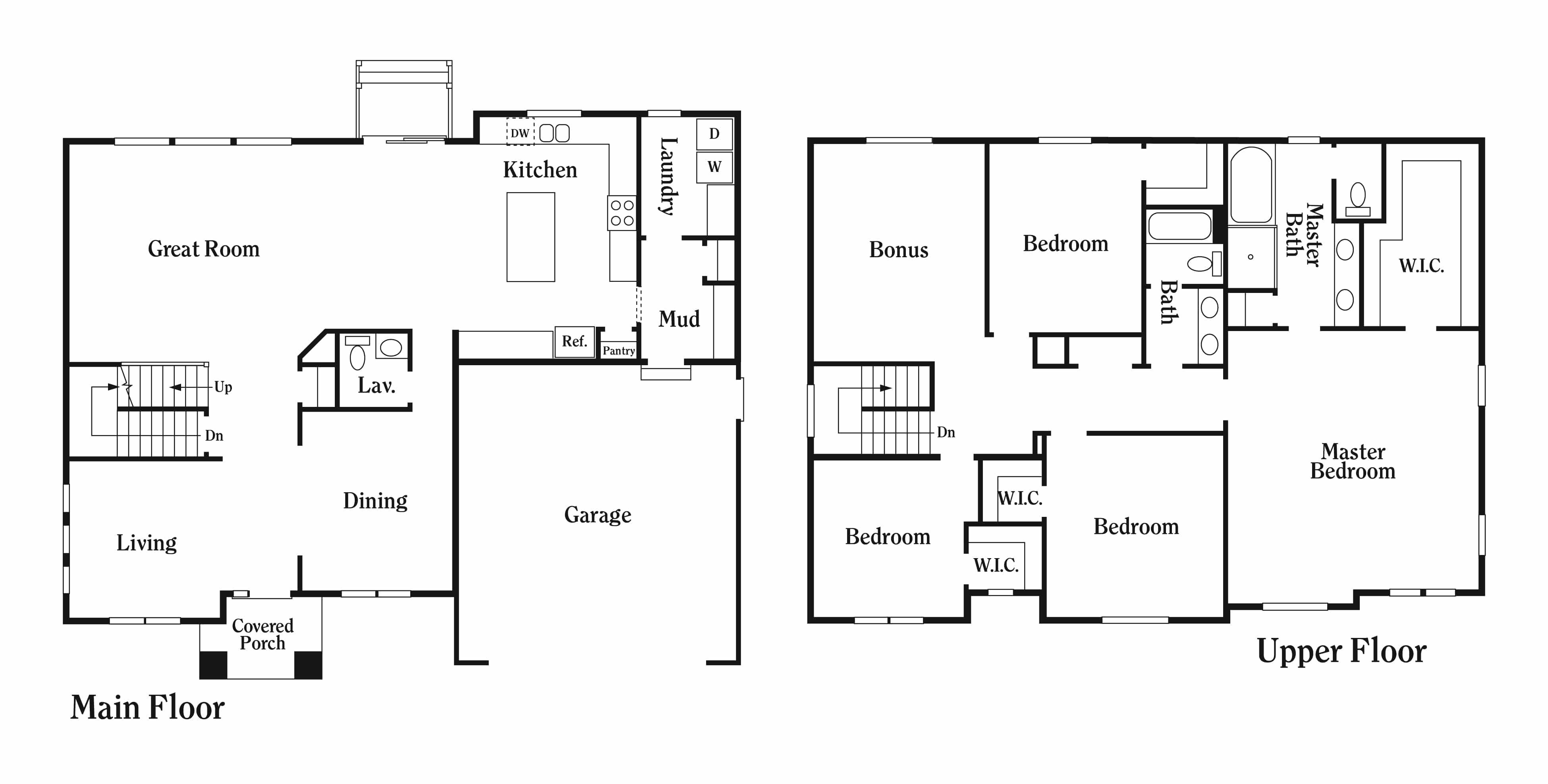 Floor Plan For Perry Homes Alder Plan