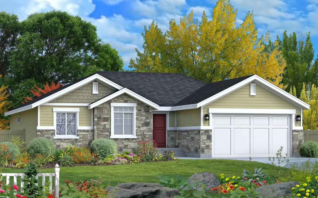 McKinley is a custom home by Perry Homes, Utah.