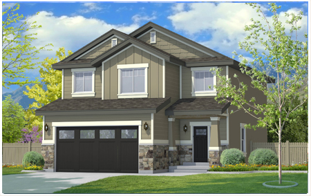 Adams floor plan created by Perry Homes Utah.