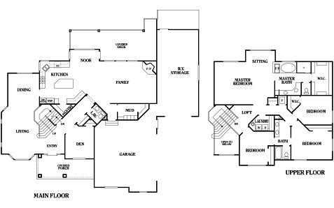 Chapman Floorplan Perry Homes