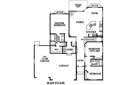 Fillmore perry homes Fillmore design floor plans