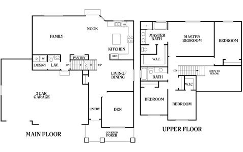 Sage perry homes for Sage floor plan