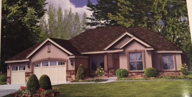 Rendering of Linden homes in Utah.