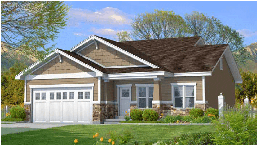 Madison is a custom home designed by Perry Homes Utah.