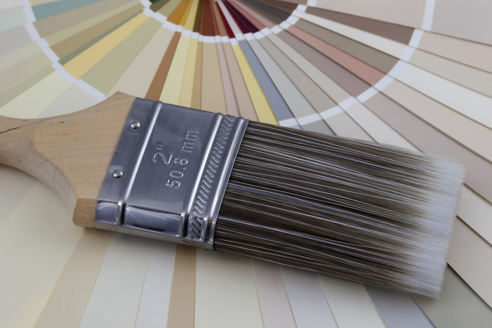 A color wheel for Perry Homes, Utah.