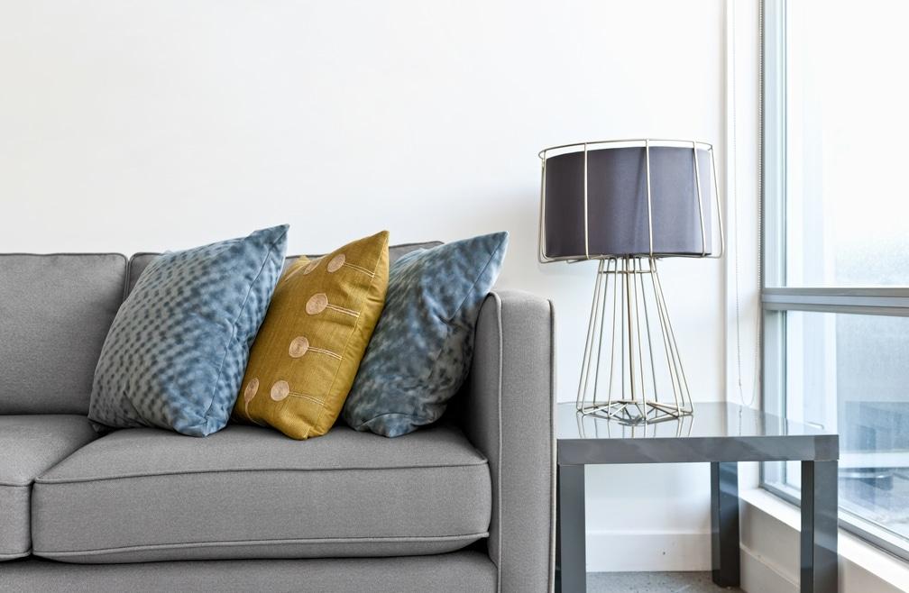 Blue and Gray Interior Design Colors