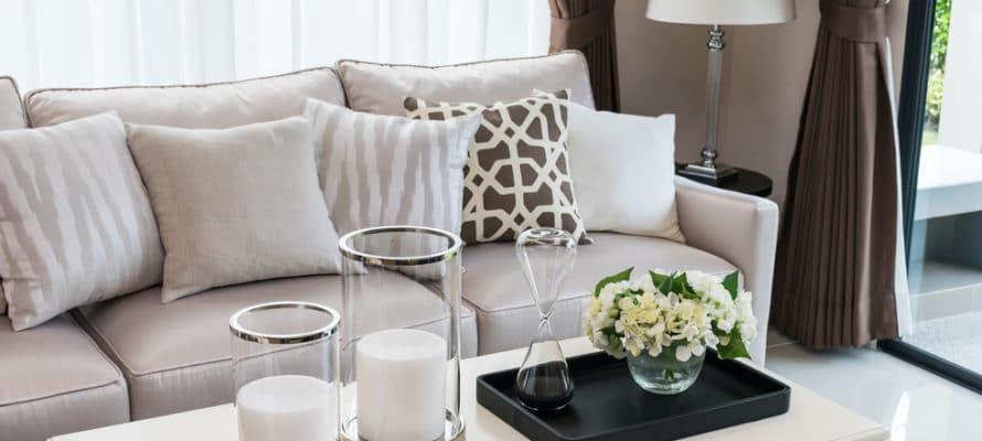 Utah home builder living room