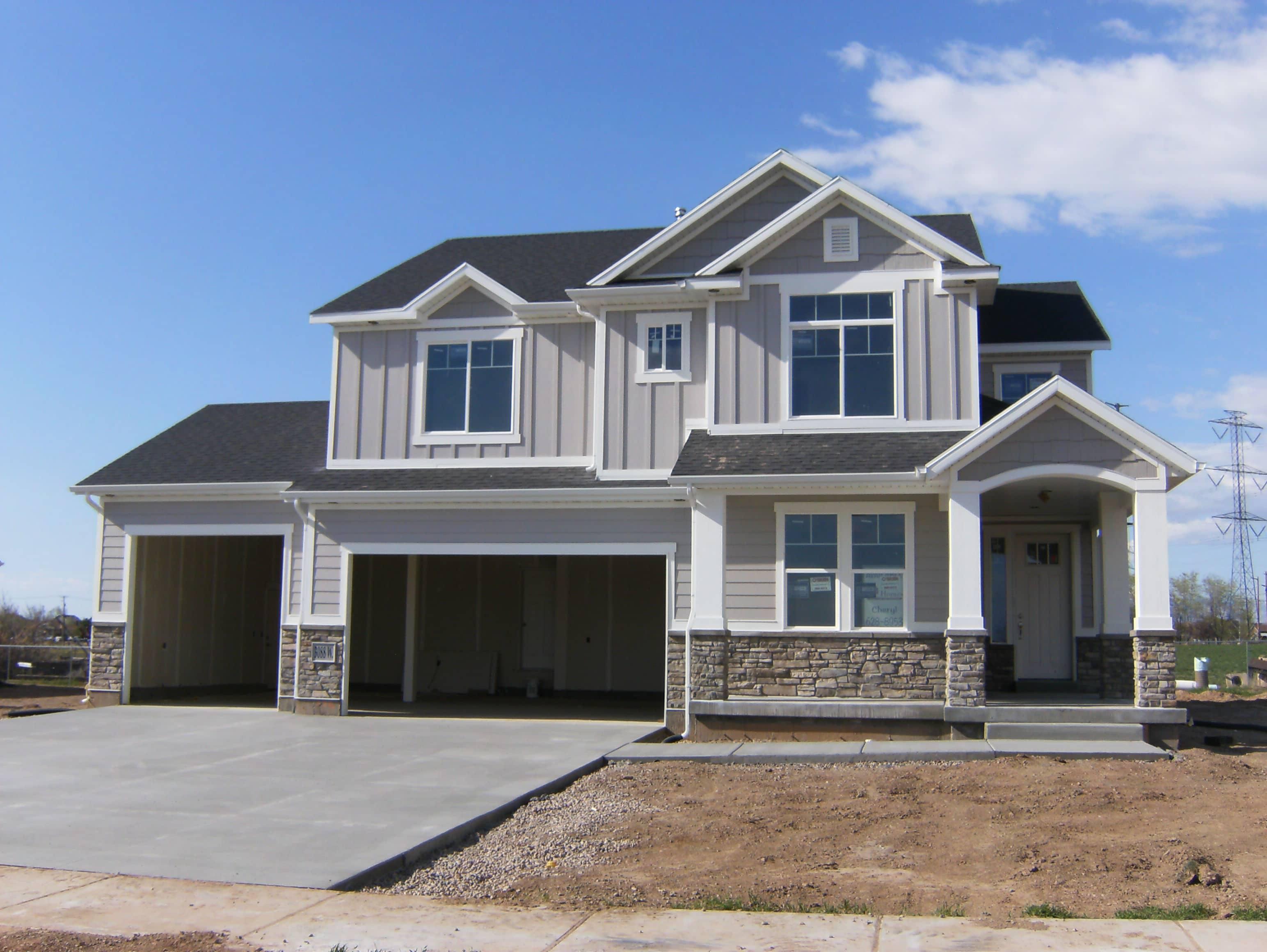 Utah Home Builder Gray House