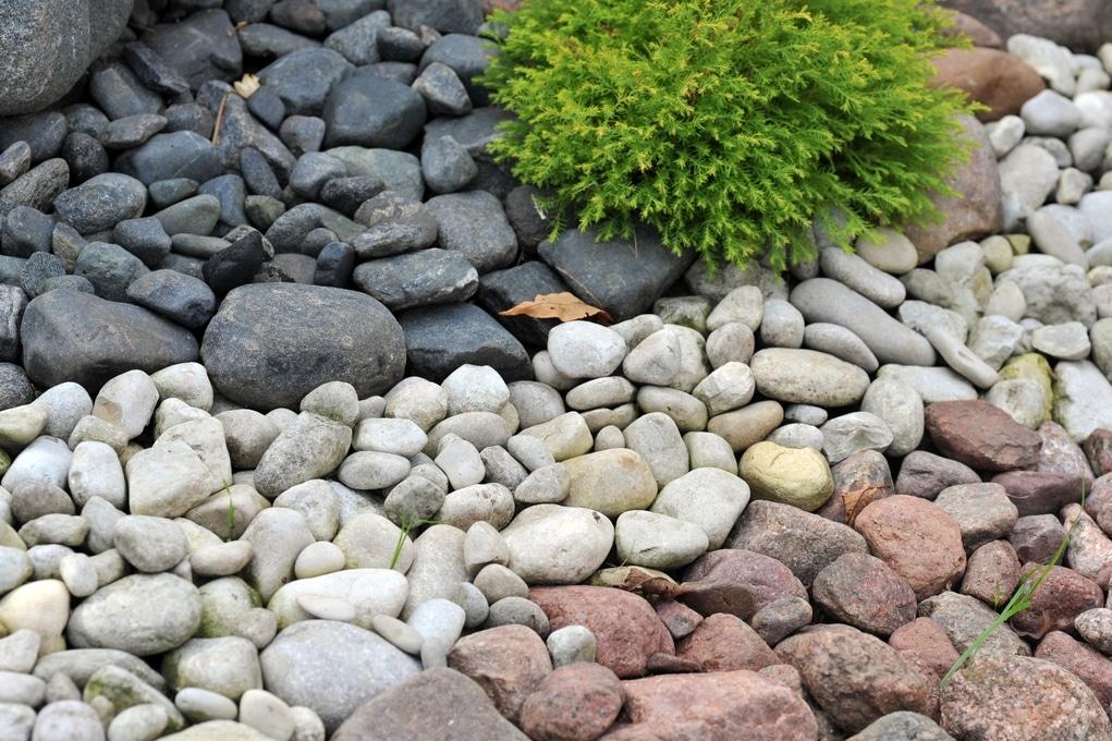 Utah home builders rocks landscape