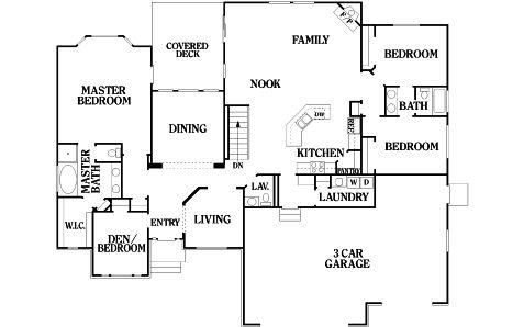 Teton Floorplan